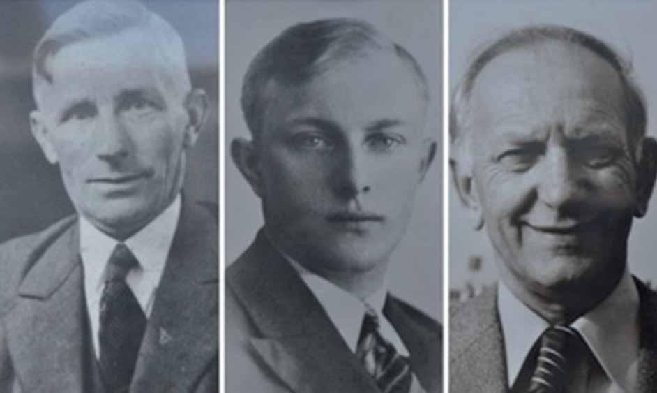 Drie generaties van Buren